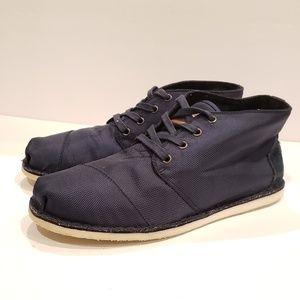 TOMS Blue Brome Botas size 10.5 as